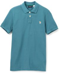 Paul Smith Logo Polo - Lyst