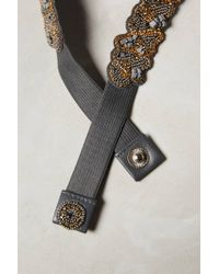 Deepa Gurnani - Beaded Riverbed Belt - Lyst