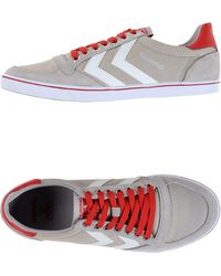 Hummel Low-Tops & Trainers gray - Lyst