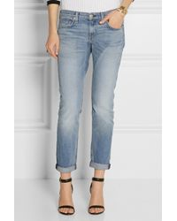 Rag & Bone The Dre Midrise Slim Boyfriend Jeans - Lyst