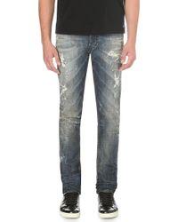 Diesel Tepphar Slim-fit Tapered Jeans Blue - Lyst