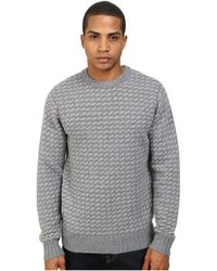 Obey York Sweater - Lyst
