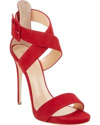 Barneys New York Crisscrossstrap Sandals - Lyst
