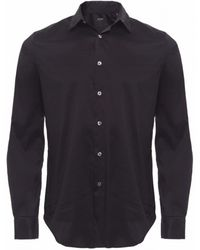 PS by Paul Smith Diamond Collar Shirt - Lyst