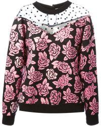 Emanuel Ungaro Floral Sweatshirt - Lyst