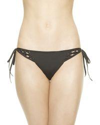 La Perla Ethno Soutache Bikini Briefs With Tie - Lyst