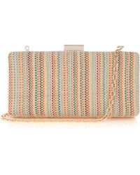 Oasis Shelby Box Clutch - Lyst