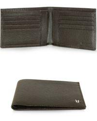 Moreschi - Dark Brown Leather Men's Traditional Wallet - Lyst
