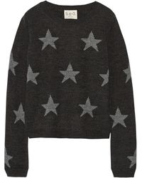 Sea Star-intarsia Knitted Sweater - Lyst