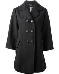 Dolce & Gabbana Oversized Double-breasted Coat - Lyst