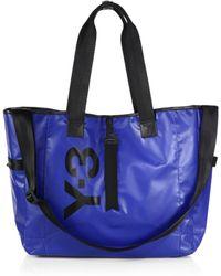 Y-3 Day Tote Bag blue - Lyst