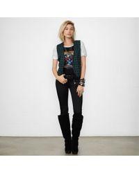 Denim & Supply Ralph Lauren Green Plaid-front Vest - Lyst