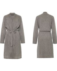 Joe's Jeans Gray Cashmere Robe - Lyst