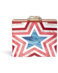 KOTUR 'Taylor Star' Pearlescent Acrylic Square Clutch - Lyst