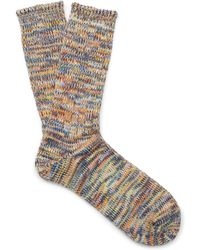 Club Monaco Anonymousism Fivecolor Sock - Lyst
