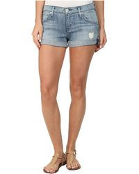 Hudson Hampton Cuffed Shorts In Seized 2 - Lyst