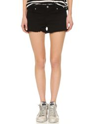 7 For All Mankind | Cut Off Shorts - Fatigue | Lyst
