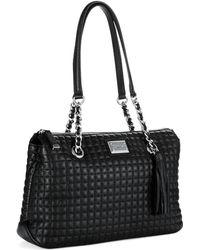 Calvin Klein Quilted Satchel Bag - Lyst
