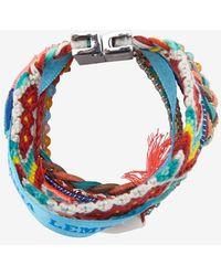 Hipanema - Ocean Bracelet Red - Lyst