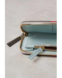 Clare V. - Bold Stripe Wallet - Lyst