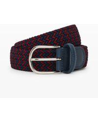 Club Monaco Andersons Woven Belt - Lyst