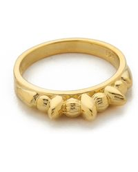 Pamela Love - Thin Tribal Spike Ring - Gold - Lyst