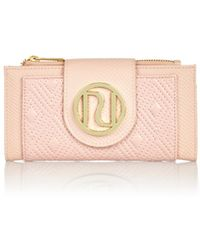 River Island Light Pink Quilted Tab Top Purse - Lyst