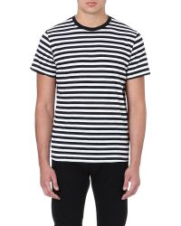 Diesel Tro Cotton Tshirt Black - Lyst