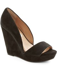 ModCloth Every Day Of The Chic Wedge in Black black - Lyst