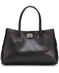 Furla Appaloosa Saffiano Leather Tote - Lyst