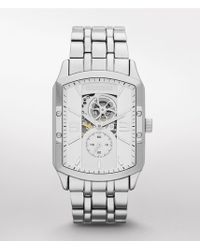 Express Automatic Skeleton Bracelet Watch - Lyst