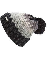 Bench - 'lunch Date' Pompom Knit Beanie - Lyst