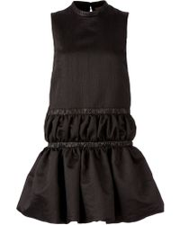 Christopher Kane Puffed Skater Dress - Lyst