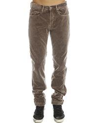 Massimo Alba | brown Massimo Alunga Velvet Trousers | Lyst