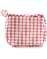 Carven Pink Gingham Bag - Lyst