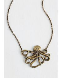 Zad Fashion Inc. - My Pet Octopus Necklace - Lyst