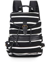 Madden Girl - Bbenji Striped Backpack - Lyst