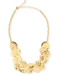 Jules Smith Hammered Coin Necklace - Lyst