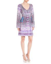 Nanette Lepore | Sunlit Scarf Dress | Lyst