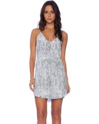 Rory Beca Alia Dress gray - Lyst