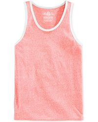 American Rag Pink Solid Tank - Lyst