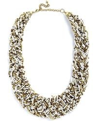 ModCloth Powers That Bead Necklace - Lyst