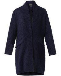 Isabel Marant Gabriel Herringbone-textured Coat - Lyst