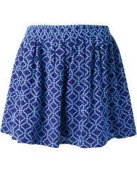 Vanessa Bruno Athé Printed Shorts - Lyst