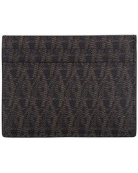 Saint Laurent | Toile Monogram Card Holder | Lyst