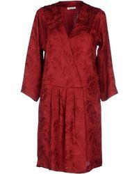 MASSCOB Short Dress - Lyst