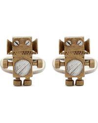 Paul Smith | 'tin Toy Robot' Cufflinks | Lyst