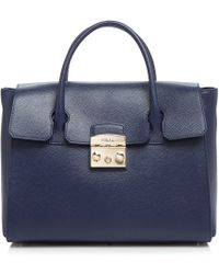 Furla - Metropolis Medium Leather Satchel - Lyst