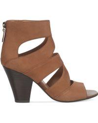 Franco Sarto Brown Tucker Sandals - Lyst