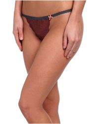 BCBGeneration Brown T Thong - Lyst